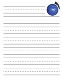 Neptune Planet Primary Lined Paper
