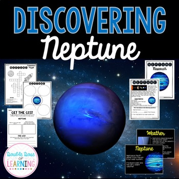 The Solar System: Planet Neptune Research Unit with PowerPoint