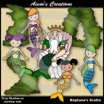 Neptune's Grotto Clip Art