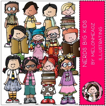Nerds Big Kids by Melonheadz COMBO PACK