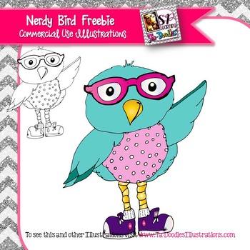 Nerdy Bird FREEBIE