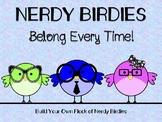 Nerdy Birdies Get to Know Me Glyphs!