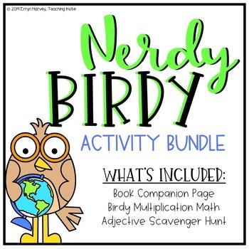 Nerdy Birdy Activity Bundle - TEKS 3.4G