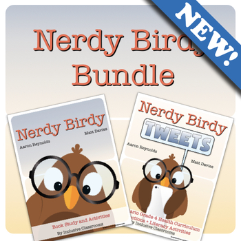 Nerdy Birdy Bundle: Book Study and Activities