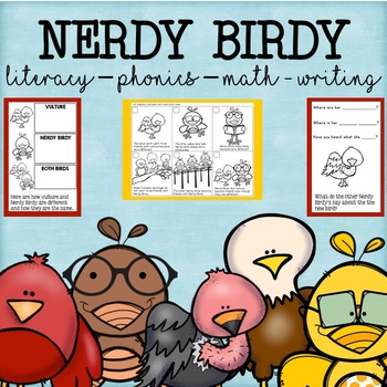 Nerdy Birdy Literacy and Math