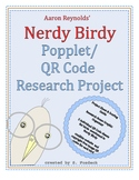 Nerdy Birdy Popplet/QR Code Research Project- Great for Su