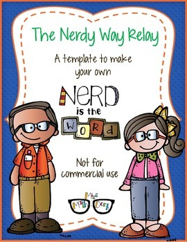 Nerdy Day Relay! template - Personal Use Only!