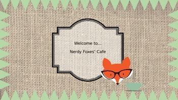 Nerdy Fox Digital Paper