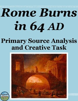 Nero and the Burning of Rome Primary Source Analysis