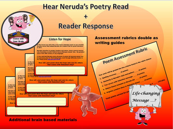 Create and Publish a Valentine  through Neruda's View