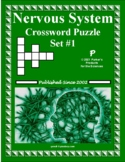 Nervous System Crossword Puzzle #1 for Human Anatomy & Physiology