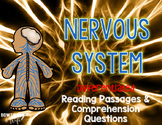 Nervous System Differentiated Nonfiction Reading Passages