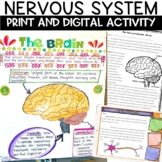 Nervous System Nonfiction Article and Sketch Note Activity