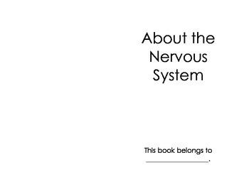 Nervous System Printable Book