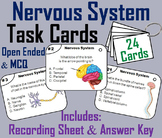 Nervous System Task Cards  (Human Body Systems Task Cards)