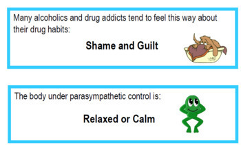 Nervous System Thinking Bingo (PDF)