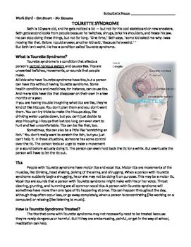 Nervous System: Tourette Syndrome