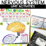 Nervous System Unit with Nonfiction Article, Activities, a