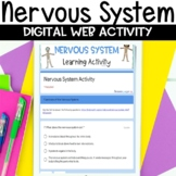 Nervous System Digital Distance Learning Activity