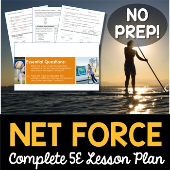 Net Force Complete 5E Lesson Plan