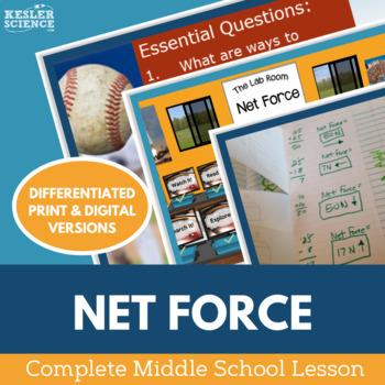 Net Force Complete 5E Lesson Plan