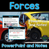 Net Force - PowerPoint and Notes