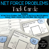 Net Force Problems Task Cards