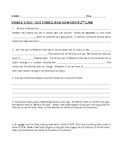 Net Force and Newton's Second Law of Motion Worksheet
