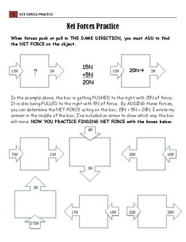 Net Forces Practice & Quiz