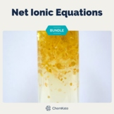 Net Ionic Equations BUNDLE   Distance Learning