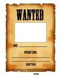 NetSmartz Wanted Poster