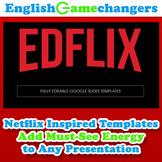 Netflix-Inspired Google Slides: Binge-Worthy Distance Lear