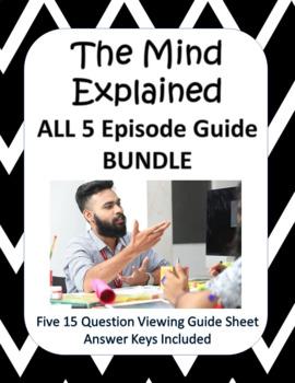 Netflix The Mind Explained: Season 1 ALL 5 EPISODES - NEW!