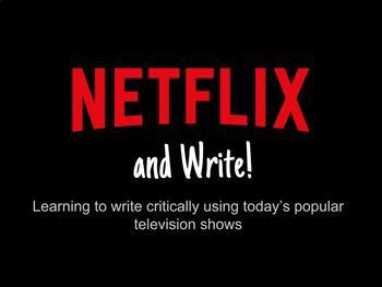 Netflix and Write!
