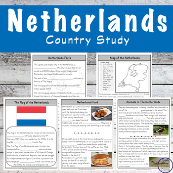 Netherlands Country Study