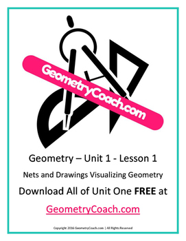 Nets and Drawings for Visualizing Geometry