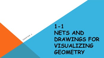 1.1 Nets and Drawings for Visualizing Geometry Lesson PowerPoint
