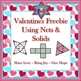 Nets and Solids Freebie for Valentine's Day