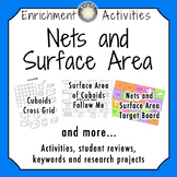 Nets and Surface Area Activities