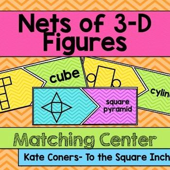 Nets of 3-D Figures Matching Center