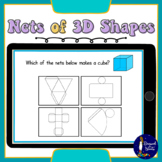 Nets of 3D Shapes BOOM Cards