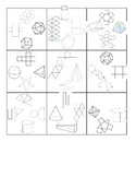 Nets of Solids Puzzle Activity