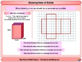 Nets of Solids for High School Math