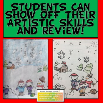Netwon's Laws Drawing Review: Winter Holidays