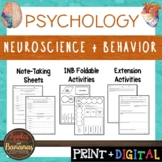 Neuroscience and Behavior - Psychology Interactive Note-ta
