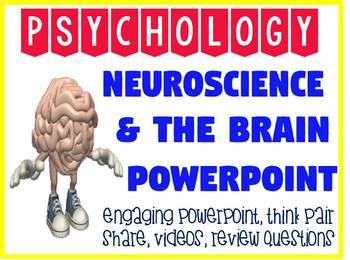Neuroscience and Brain Powerpoint for Psychology