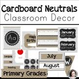 Neutral Farmhouse Classroom Decor for Back to School