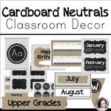 Neutral Farmhouse Classroom Decor Back to School - Upper Grades