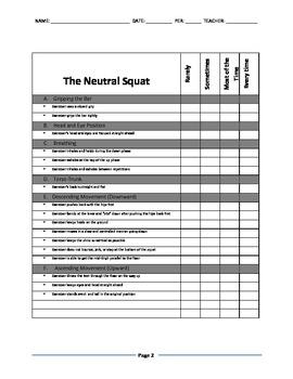 Neutral Squat