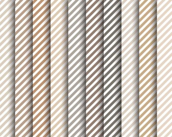 Neutral Striped Papers, Digital Papers, Striped Paper Set #150